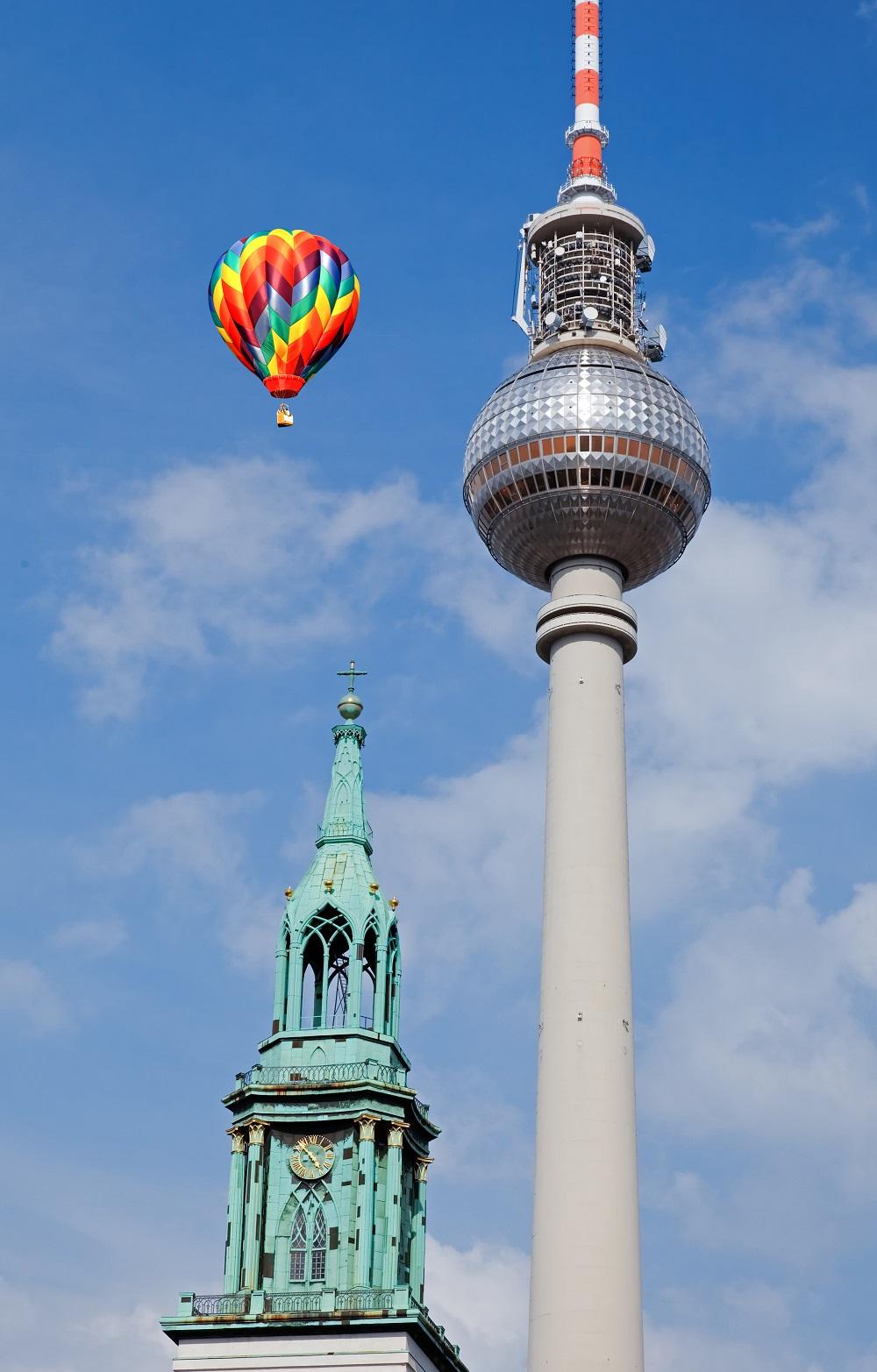 Ballonfahrt in Berlin