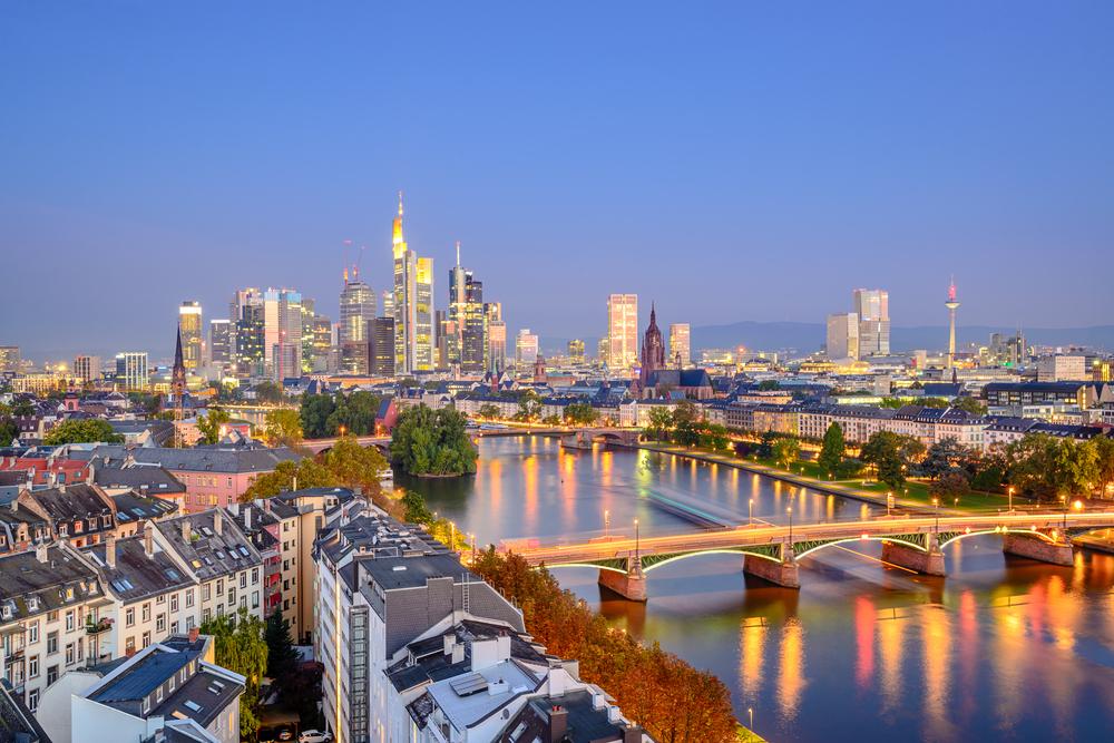 Ballonfahrt in Frankfurt