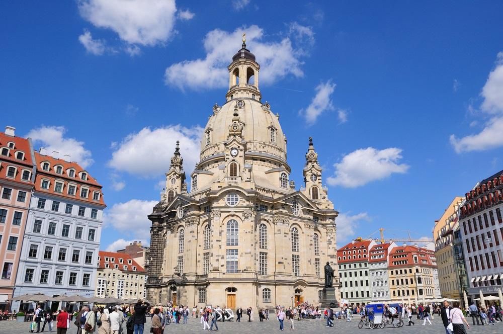 Ballonfahrt in Dresden