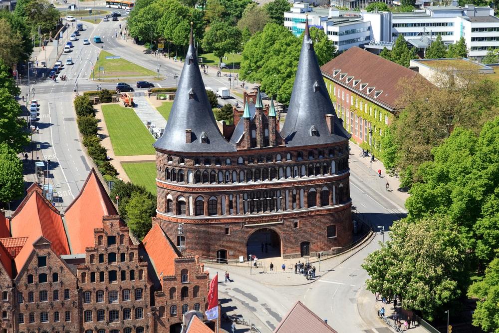 Balonfahrt in Lübeck