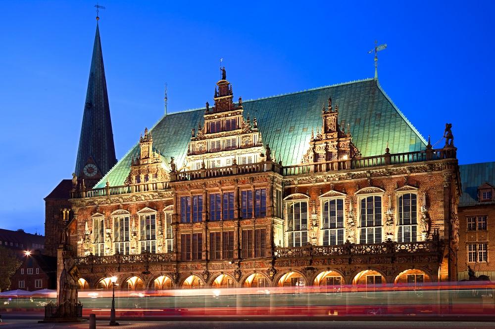 Ballonfahrt zum Rathhaus Bremen