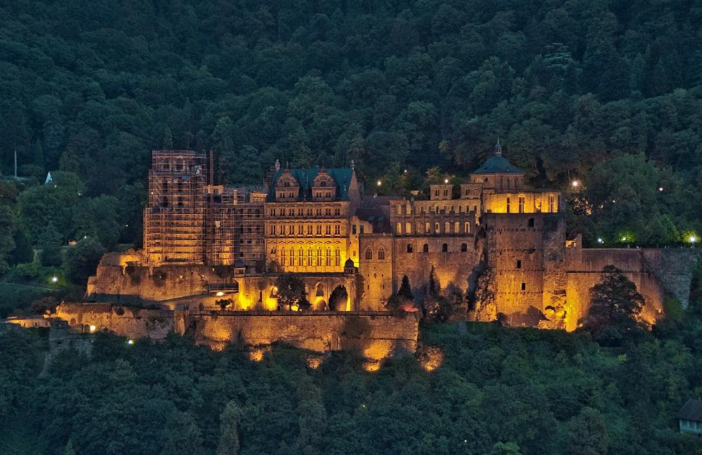 Ballonfahrt zum Schloss Heidelberg