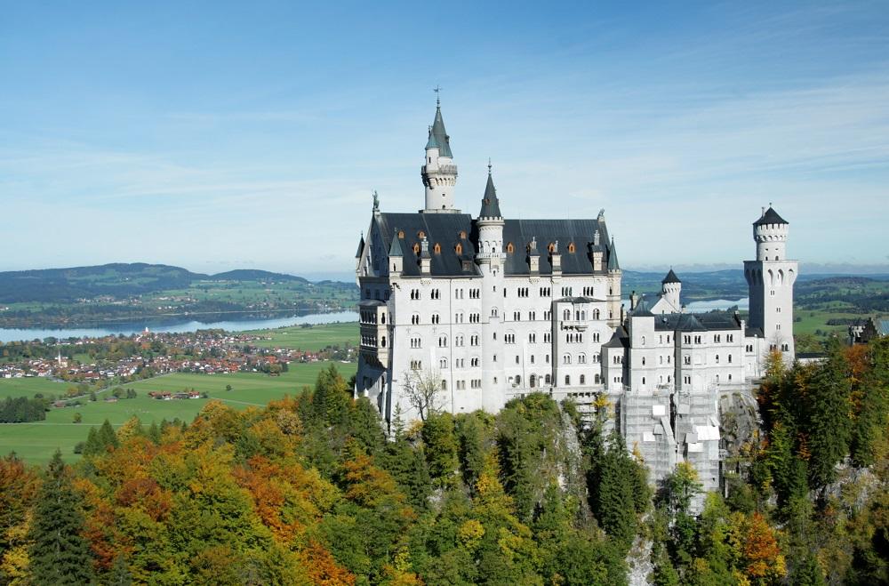 Ballonfahrt zum Schloss Neuschwanstein