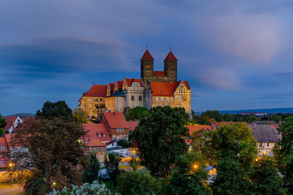 Ballonfahrt in Quedlinburg