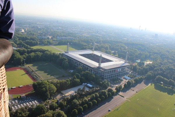 cologne ballooning stadion