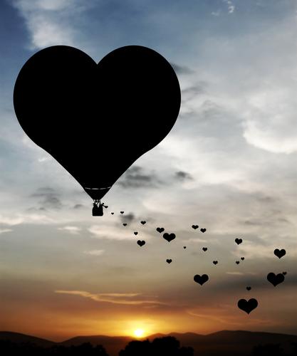 Romantik im Ballon