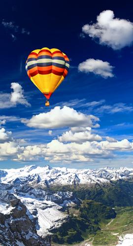 Wetter-Ballonfahrt